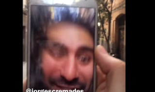 video viral camara delantera